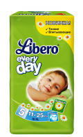 Libero Every Day 11-25кг 16шт Extra Large 5